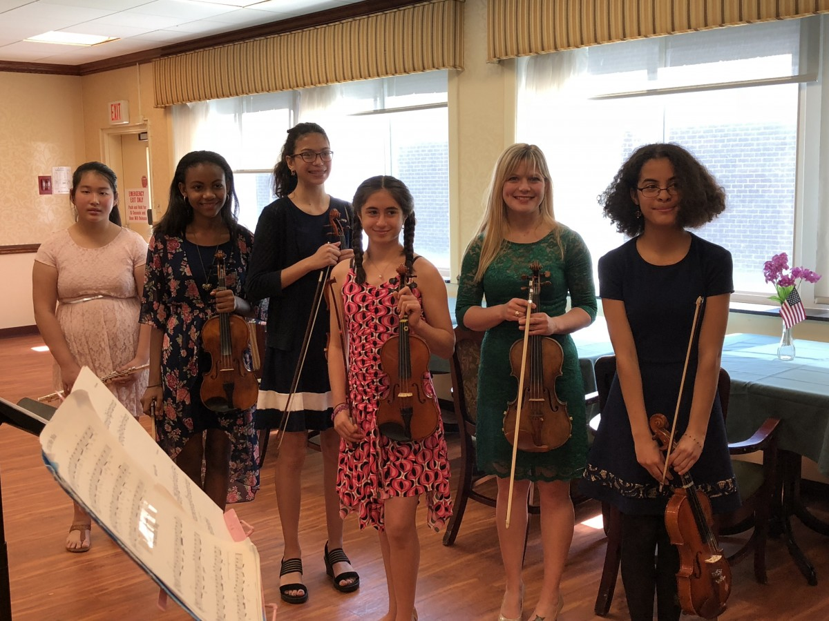 Thumbnail for Heritage Middle School's Irish Music Club Performs at Local Nursing Home