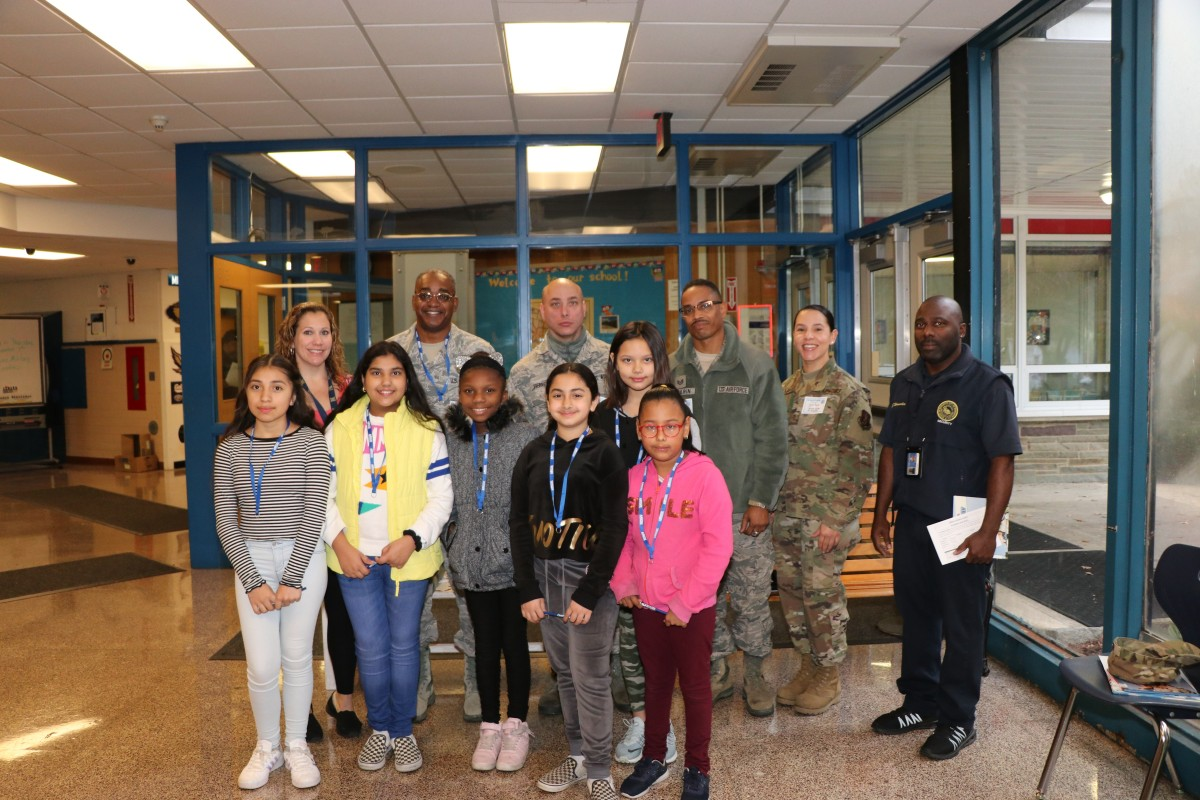 Thumbnail for GAMS Hosts 105th Airlift Wing to Read to K-5 Scholars