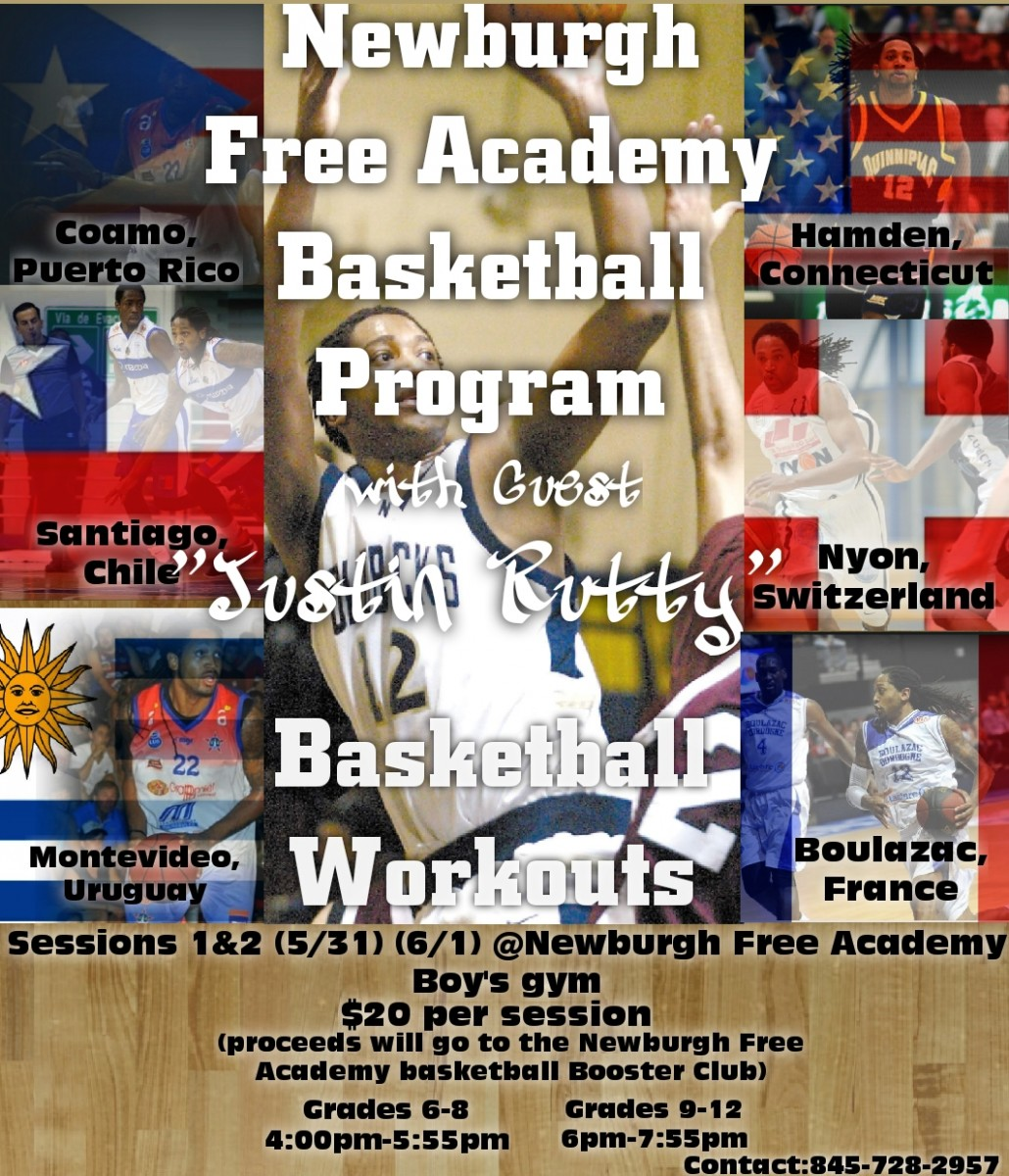Thumbnail for Newburgh Free Academy Basketball Guest Coach Workouts - Grades 6-12