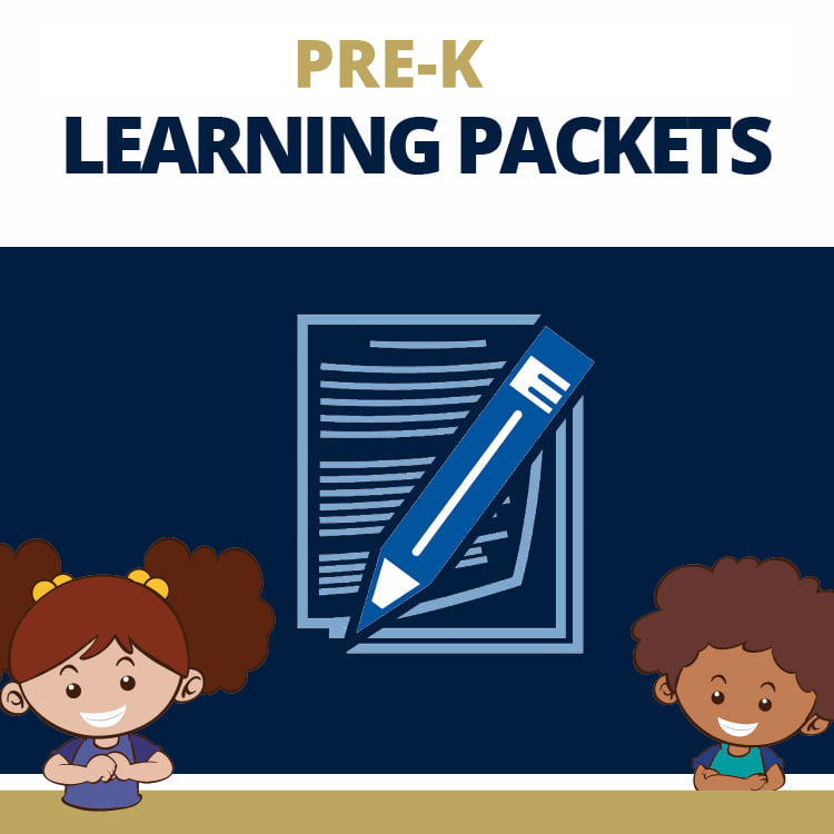 Thumbnail for Pre-K Learning Packets