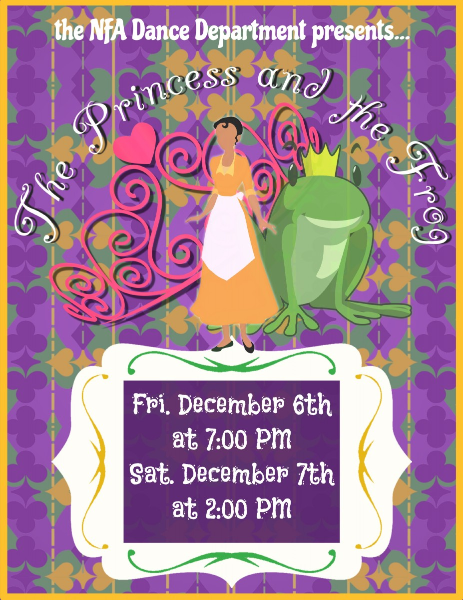 Thumbnail for Save the date! NFA Dance Presents: The Princess and the Frog