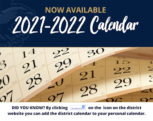 Thumbnail for 2021-2022 District Calendar