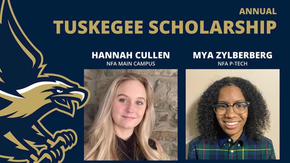 Thumbnail for Two NFA Scholars Received Annual Tuskegee Scholarship Award