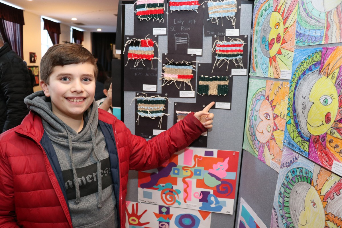 Thumbnail for Young Artists Celebrated at All-District Art Show