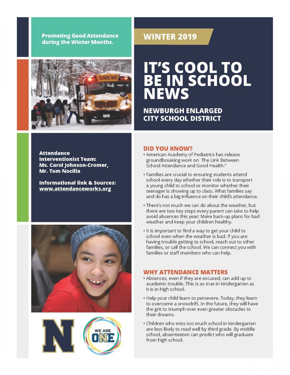 Attendance Newsletter, Download for Content