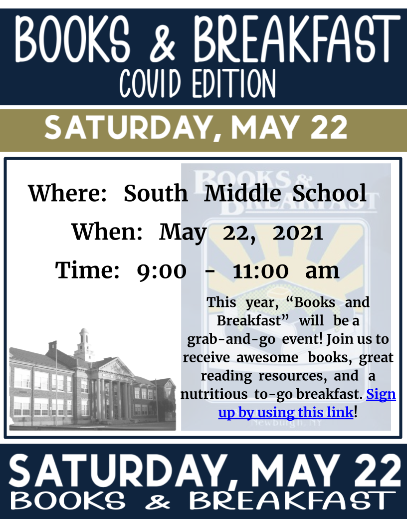 Thumbnail for South Middle School Annual Books & Breakfast: COVID Edition