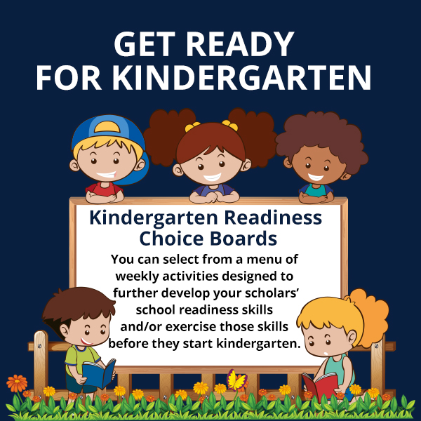 Thumbnail for Get Ready For Kindergarten Choice Boards