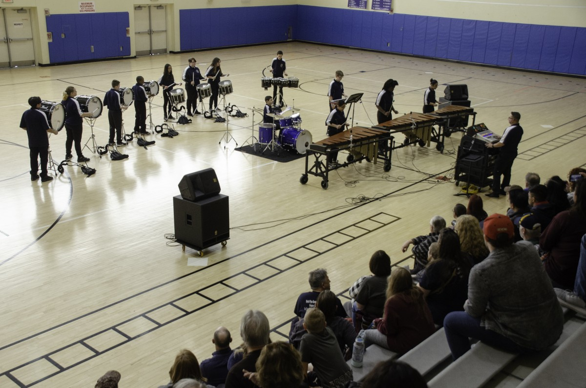 Thumbnail for NECSD Empire Drumline Travels to Albany Indoor Percussion Home Show
