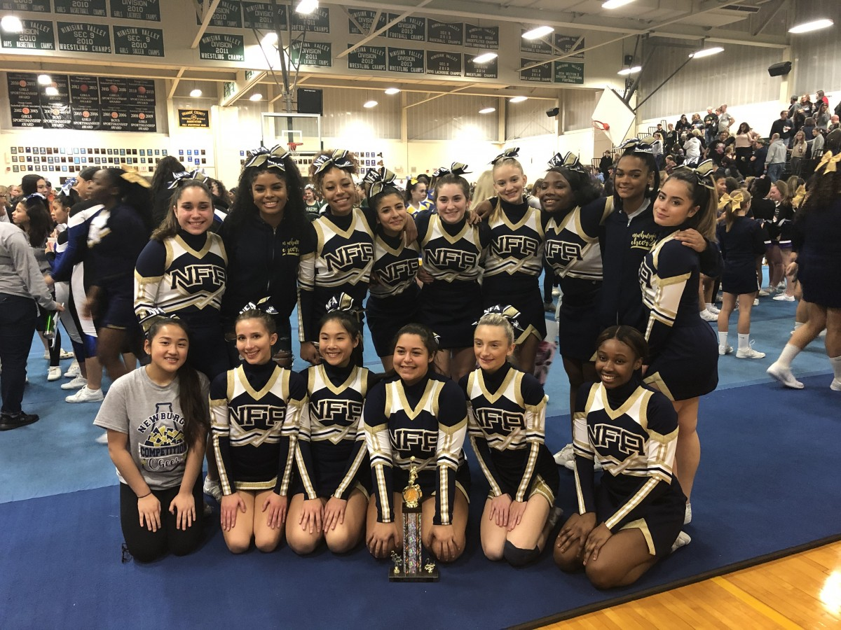 Thumbnail for NFA Varsity Competition Cheerleading Places 2nd in Local Competition