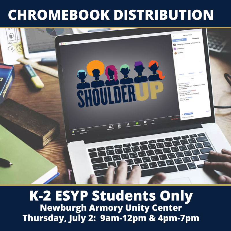 Thumbnail for Chromebook Distribution for K-2 ESYP Students