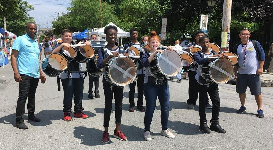 Thumbnail for Empire Drumline Performs at 6th Annual Newburgh Illuminated Festival