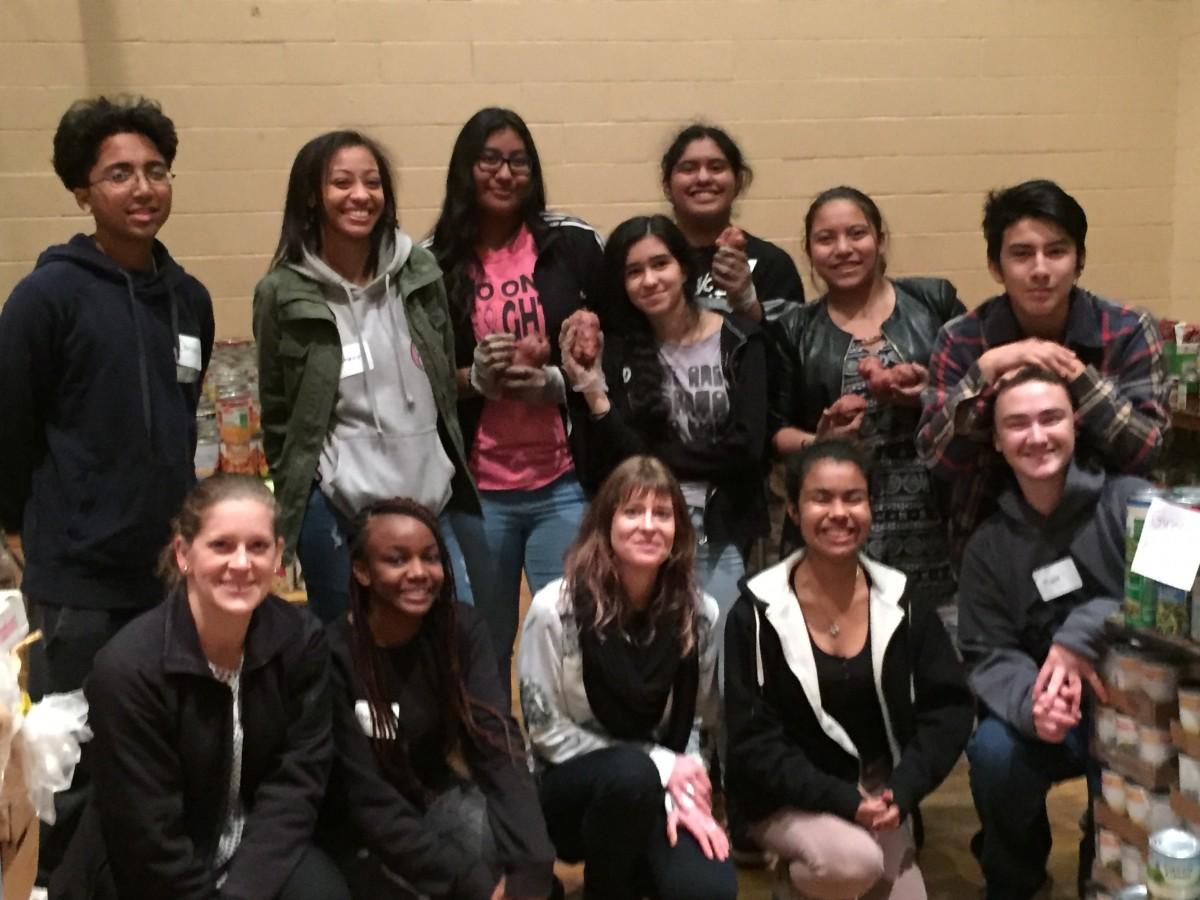 Thumbnail for NFA North & West Goldbacks give back - volunteer at local food bank!