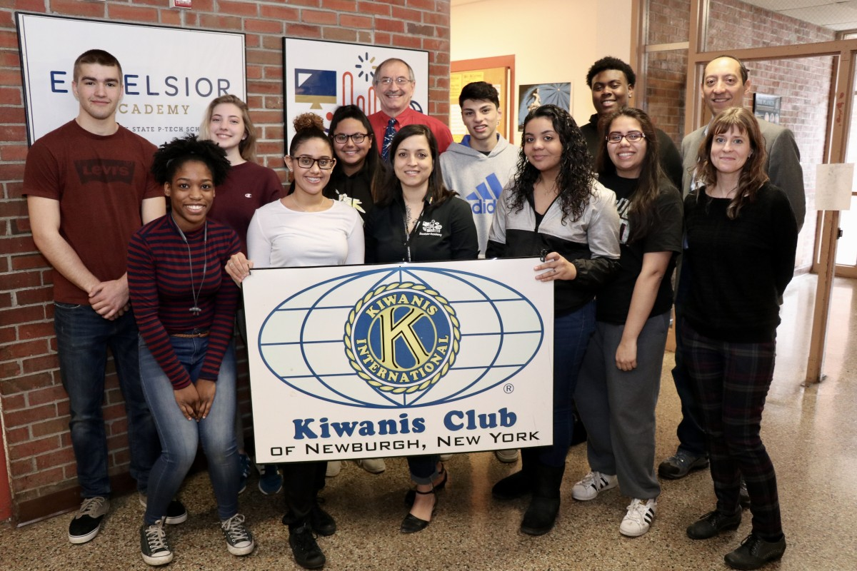 Thumbnail for Kiwanis Club of Newburgh Donates to Student Trip to Cambodia