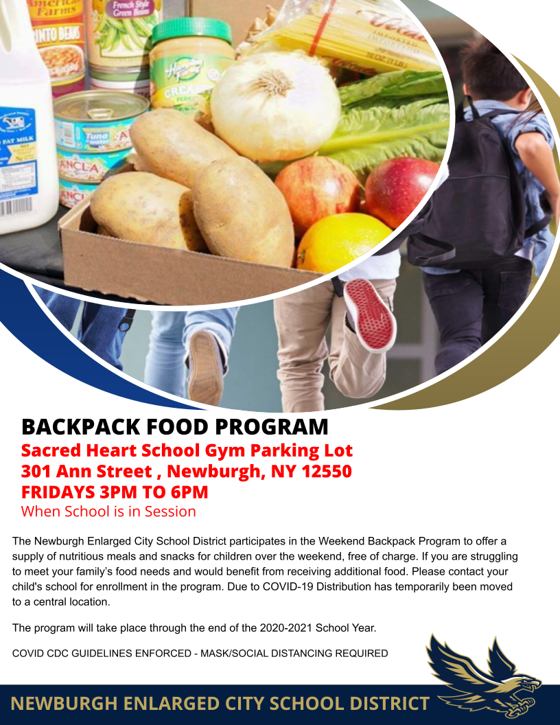 Thumbnail for NECSD Food Backpack Program Now Available Weekly