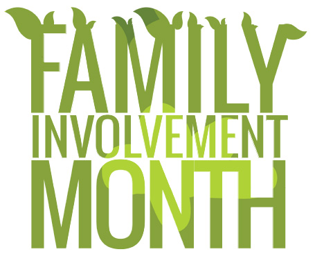 Family Involvement Month Logo