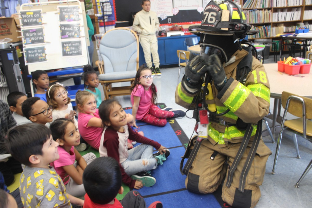 Thumbnail for Meadow Hill Scholars Participate in Fire Prevention Week