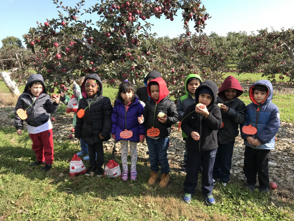 Thumbnail for Fostertown 1st Graders Visit Lawrence Farm