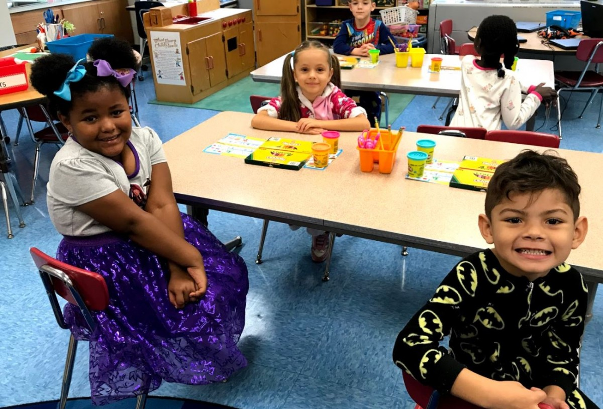 Ms. Caputo's Kindergartners