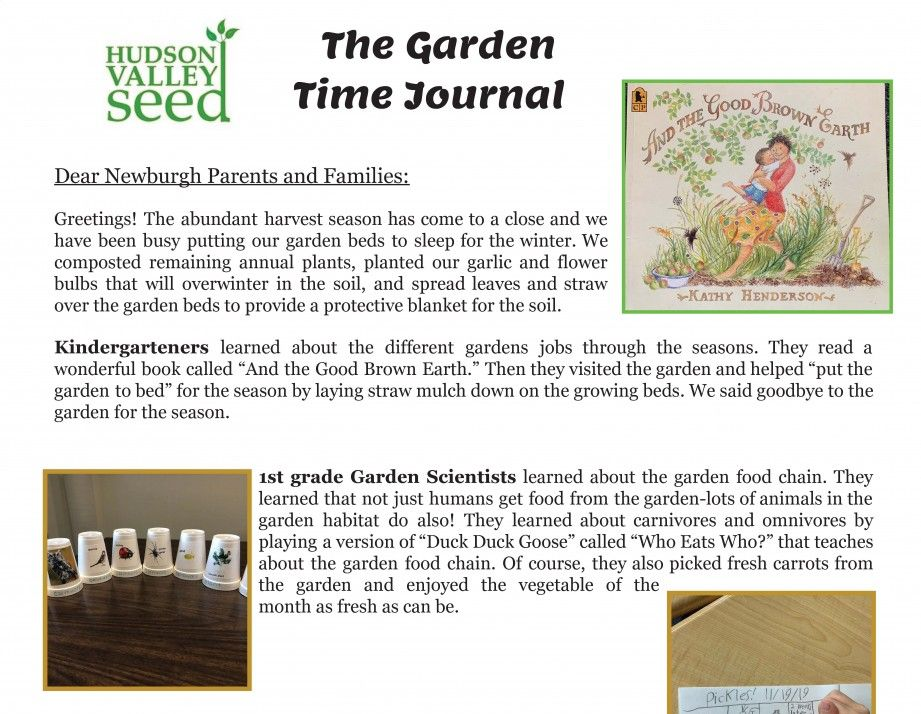 Thumbnail for Hudson Valley Seed December Newsletter & Fun Facts
