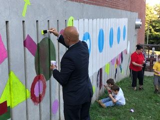 Thumbnail for The Newburgh Basics Celebrates First Anniversary With A Mural