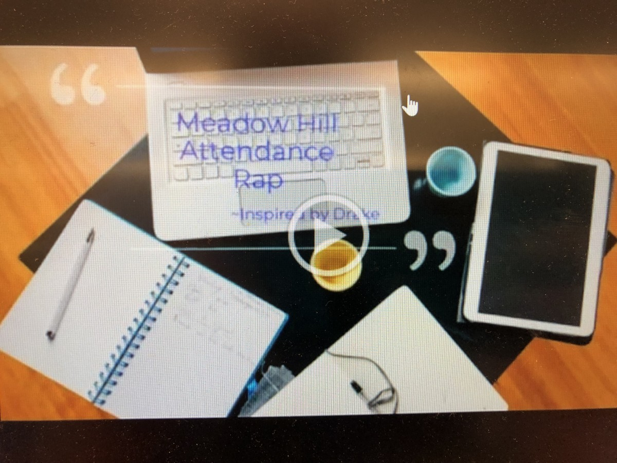 Thumbnail for Meadow Hill's Attendance Team Creates Rap Video to Promote Good Attendance