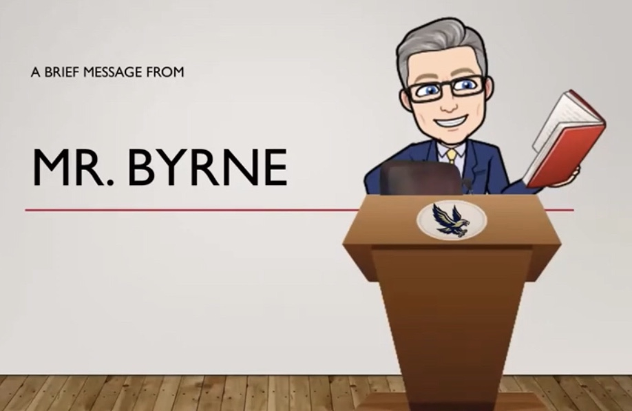 Thumbnail for Welcome Message from Temple Hill Teacher Mr. Byrne!
