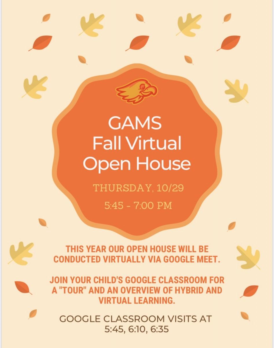 Thumbnail for GAMS Fall Virtual Open House