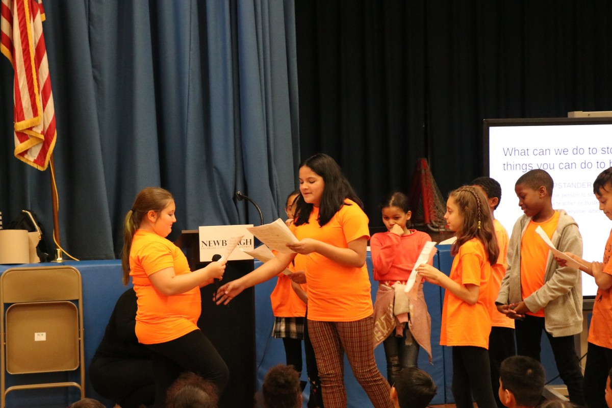 Thumbnail for New Windsor School Leaders by Choice (LBC) Club Develop and Host National Bullying Prevention Month Assembly
