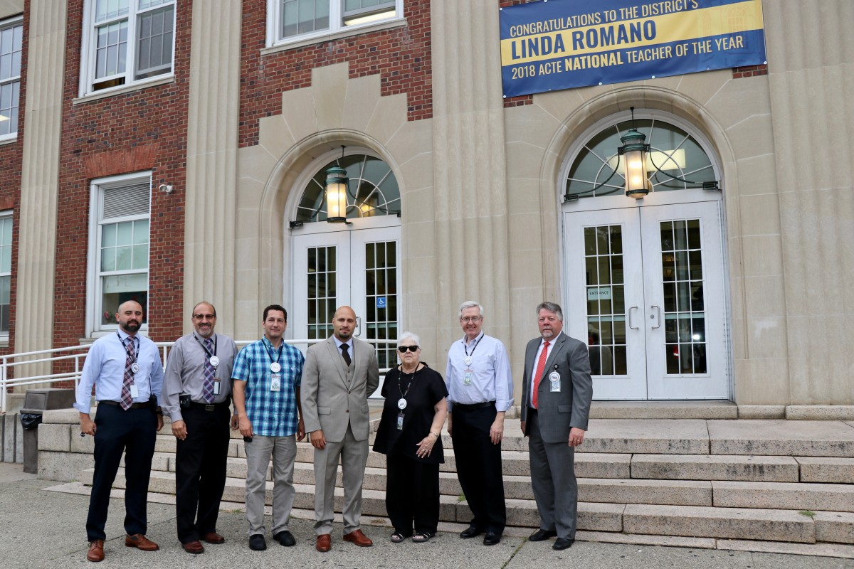 Thumbnail for Board Members, Our Superintendent, and Central Staff Members Welcome Back Students