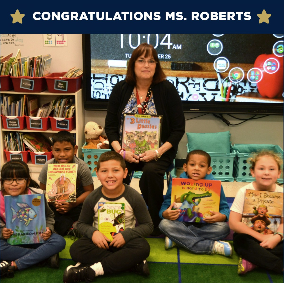 Thumbnail for New Windsor School Teacher Secures James Patterson Classroom Library Grant