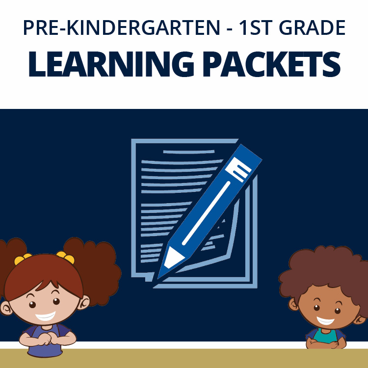 Thumbnail for Pre-K, Kindergarten, and 1st Grade Learning Packet Information