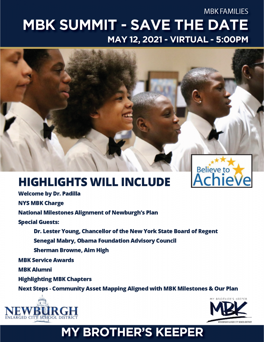 Thumbnail for You're Invited! My Brother's Keeper Summit - May 12 at 5pm