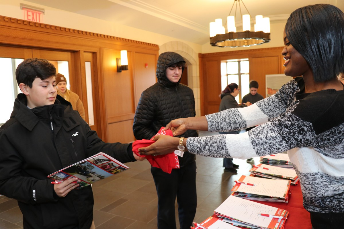 Students receive information.