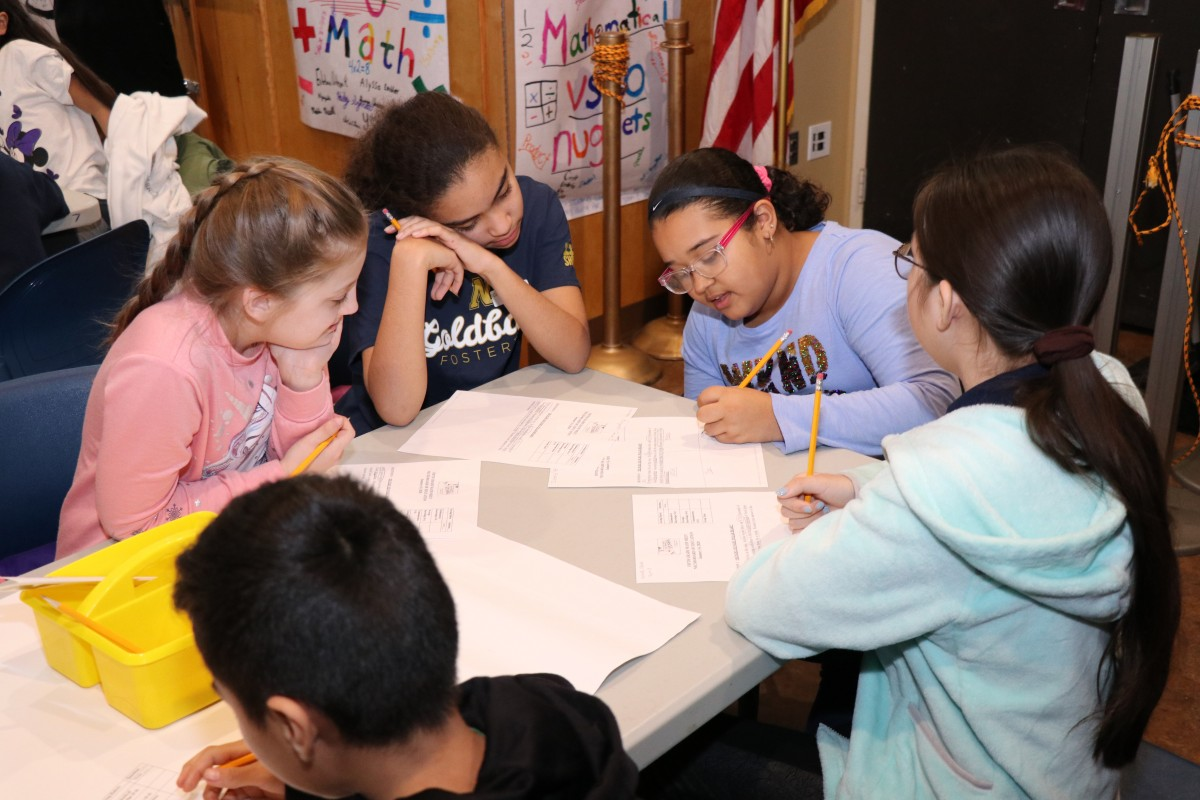Thumbnail for Fifth Grade Scholars Compete in District Math Meets Competition
