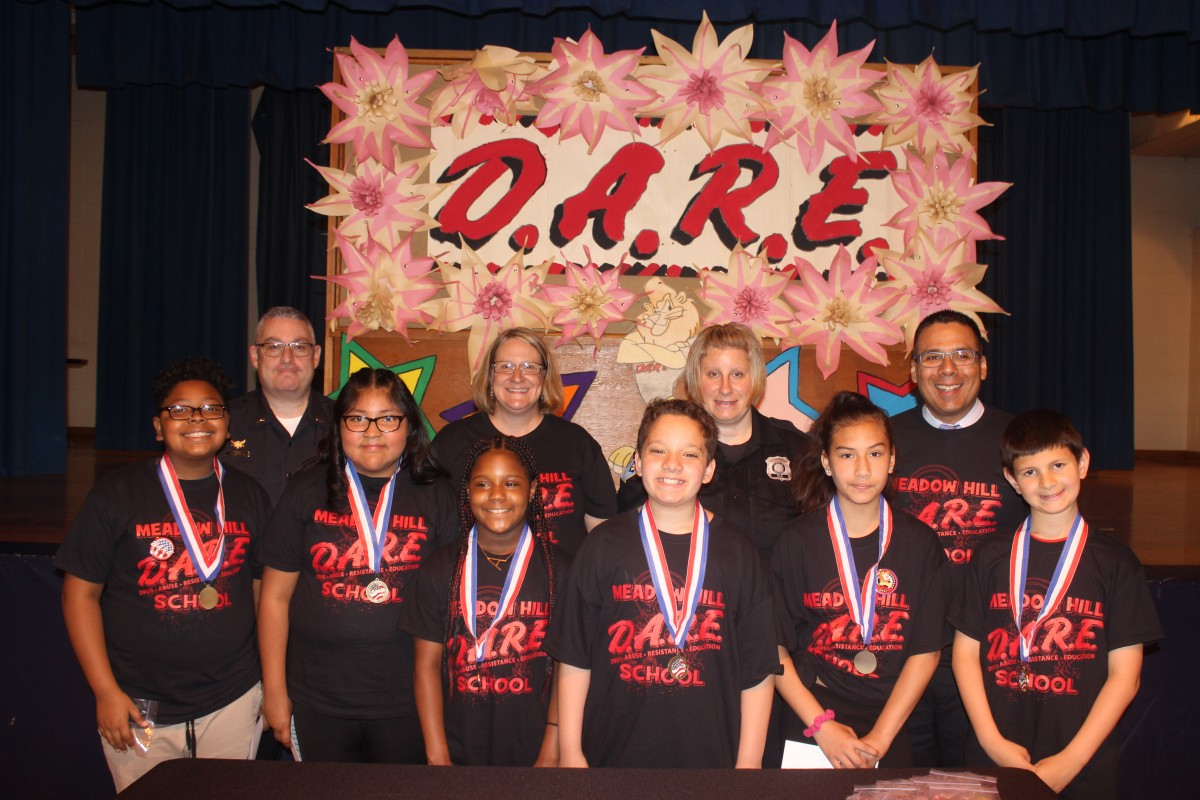 Thumbnail for Meadow Hill Holds 5th Grade D.A.R.E. Graduation