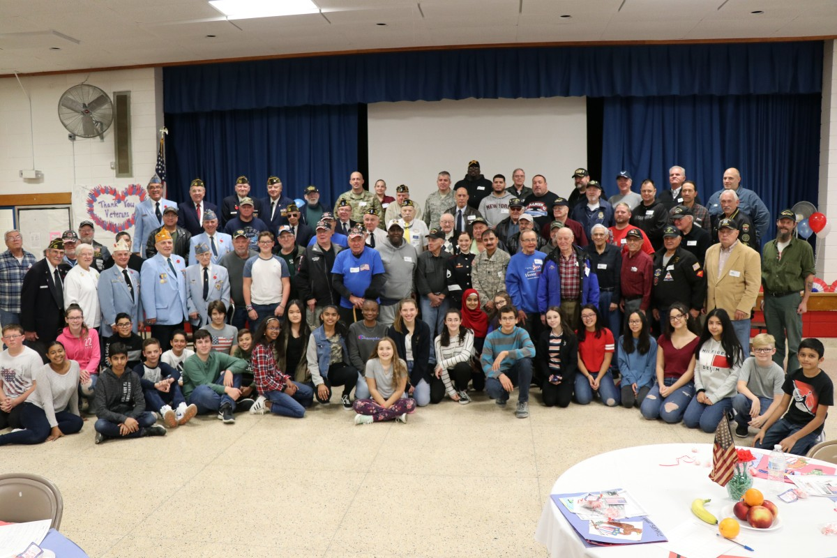 Thumbnail for Meadow Hill School Hosts 14th Annual Veterans Day Breakfast