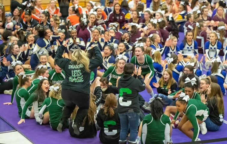 Thumbnail for NFA Varsity Competitive Cheerleading Team Displays Sportsmanship at Sections