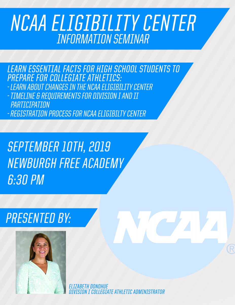 Thumbnail for NCAA Eligibility Center to Host Information Seminar