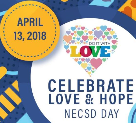 Thumbnail for You're Invited To Celebrate Love & Hope - Third Annual Team NECSD Day!