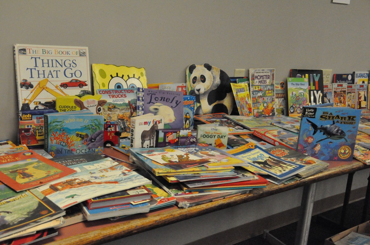The Newburgh Teachers Association hosts their 2nd Annual Book Giveaway