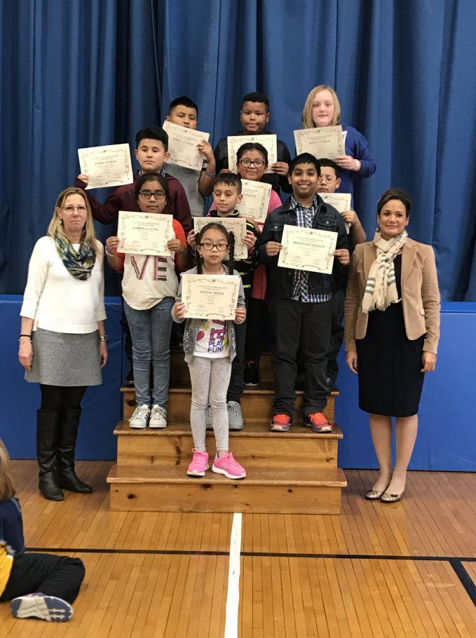 November - Respect Students Grades 3-5