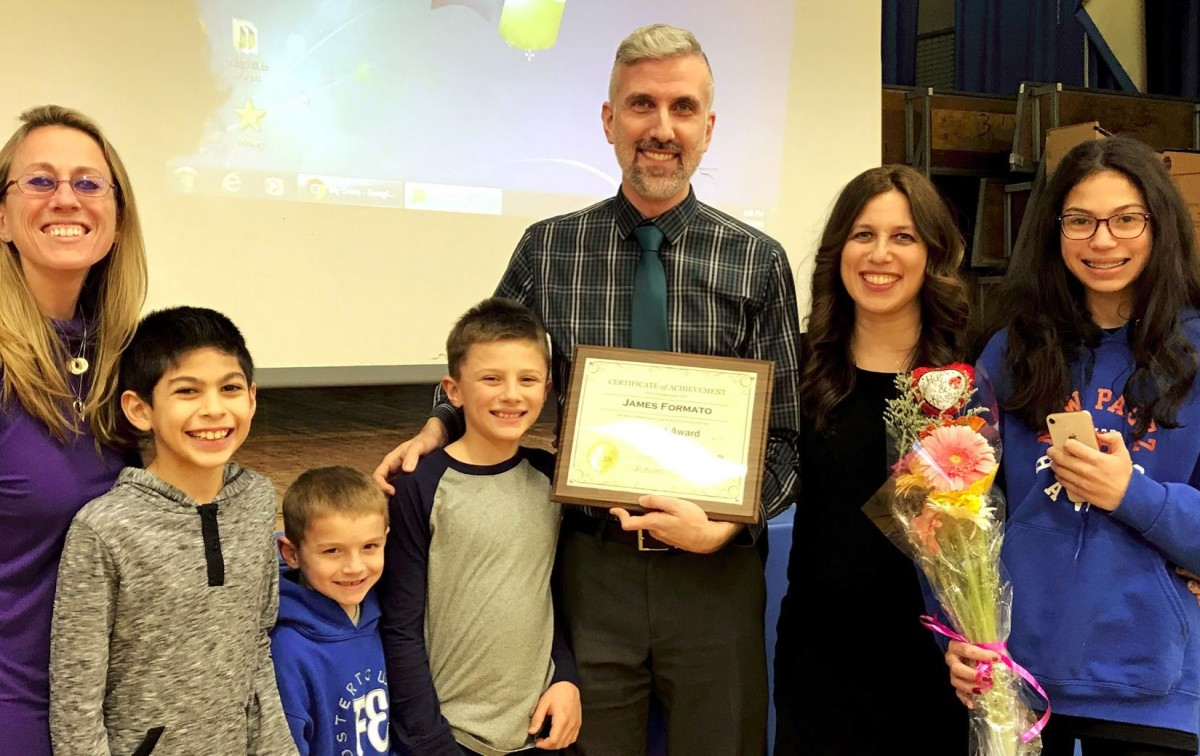 Thumbnail for New Windsor School Gives Out February Big Heart Award & It's a Family Affair