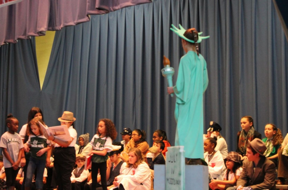 Thumbnail for New Windsor School Performs: The Great American Melting Pot! A Musical Written by Ms. Quinci
