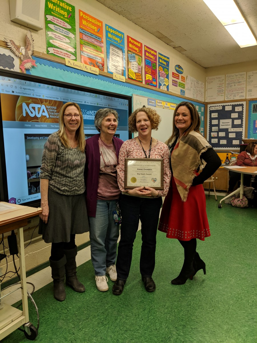 Thumbnail for March Big Heart Award Given Out at New Windsor School!