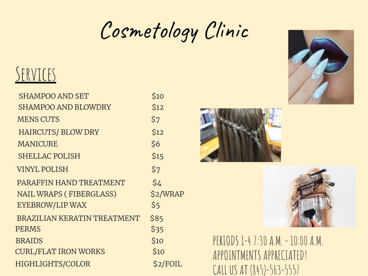 Thumbnail for NFA Cosmetology Clinic Opens for the Year!