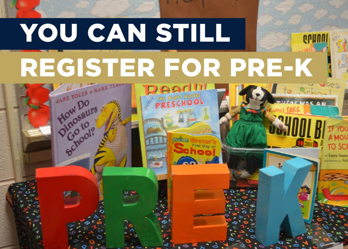 Thumbnail for Pre- K Enrollment Still Available