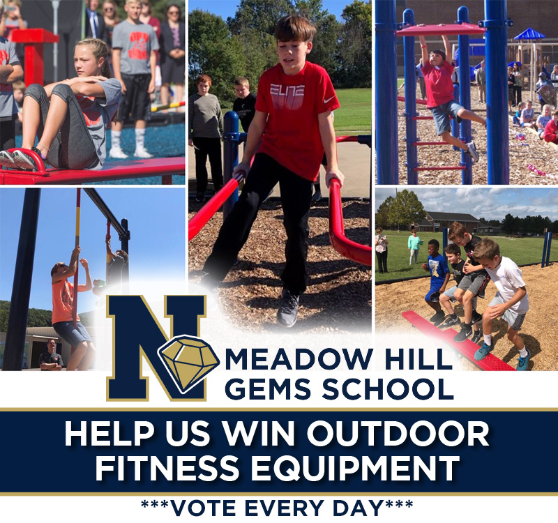 Thumbnail for Meadow Hill School in Contest to Win Outdoor Fitness Equipment