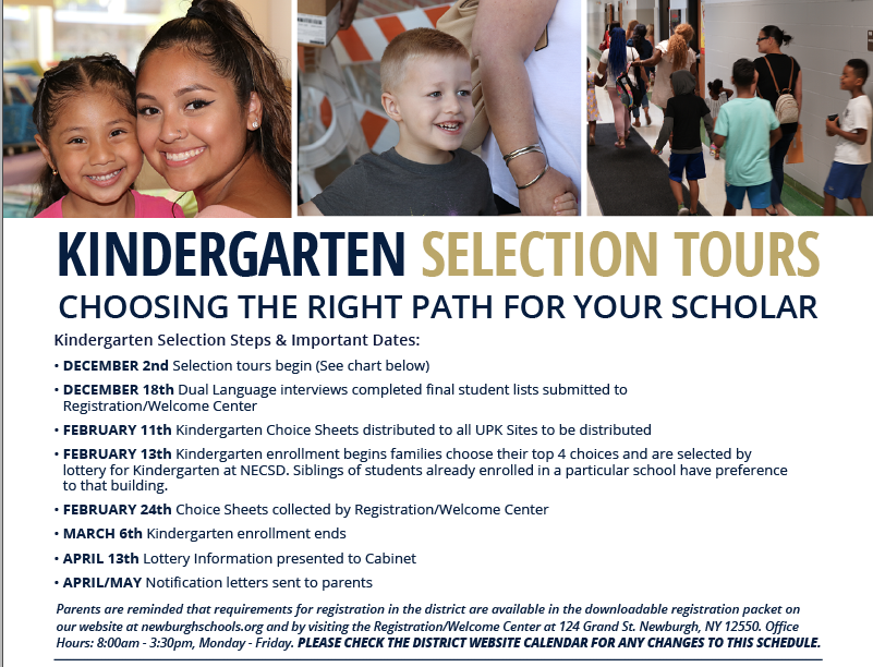 Thumbnail for Kindergarten Selection Tours Schedule