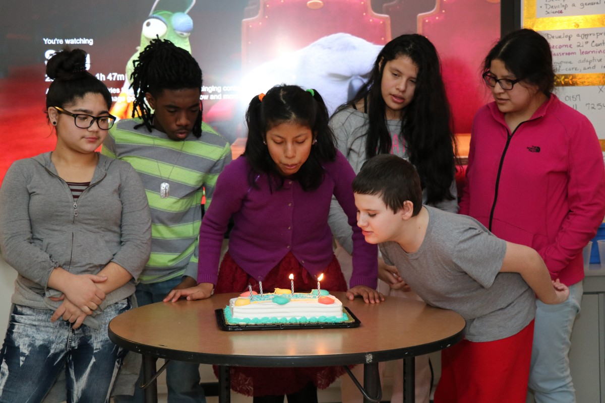 Thumbnail for Ms. Rose's Exceptional Learners Class celebrates January birthdays!