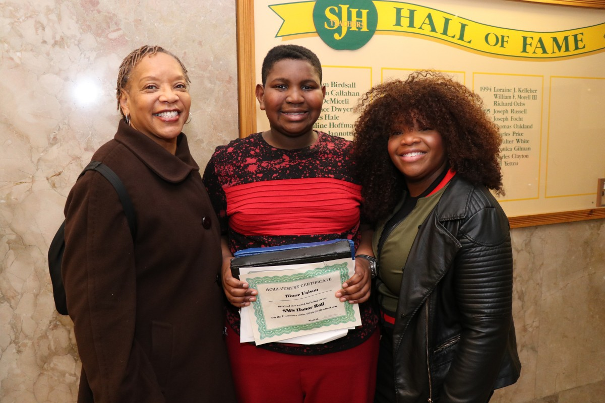 Thumbnail for South Middle School Celebrates 350 Honor Roll Scholars